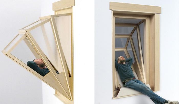 More Sky - концепт раздвижного окна-балкона.