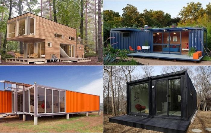 Прекрасное недорогое жилье, сделанное из контейнеров.
