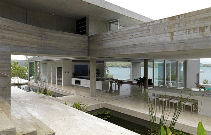 Solis Residence - монолитный особняк на острове Гамильтон.