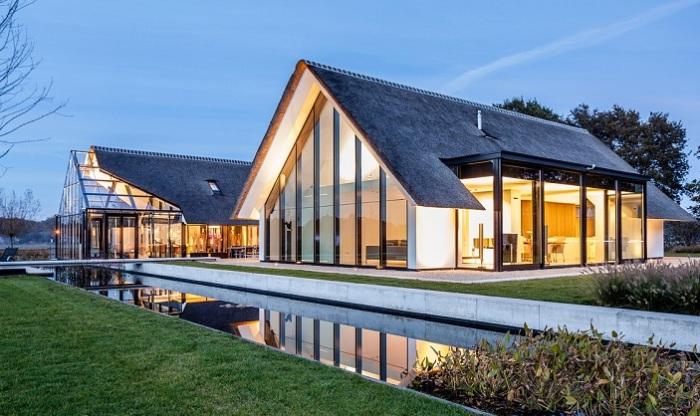 Архитекторский проект голландской студии Maas Architecten.