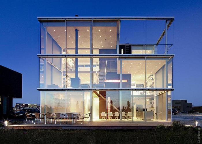 Дом-куб в Амстердаме. | Фото: coolhouses.ru.