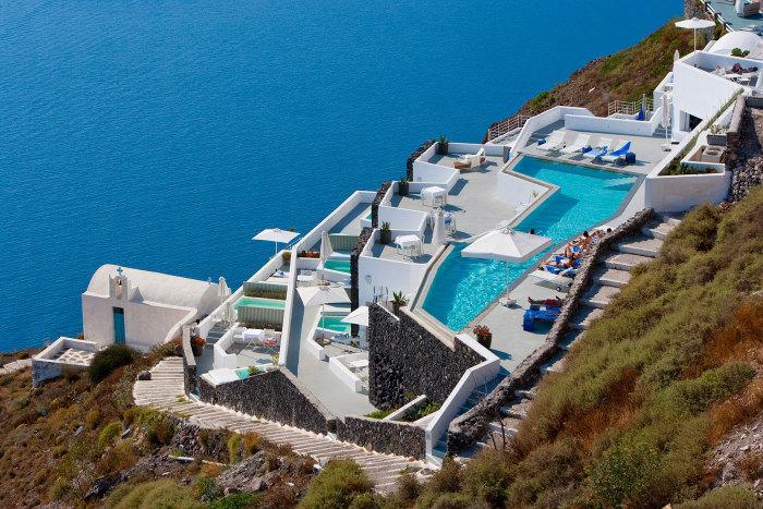 Hotel Andronikos - номера-люкс.