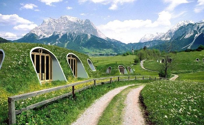 Жилые модули, разработанные компанией Green Magic Home.