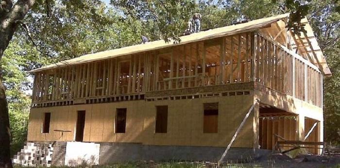 Строительство дома по видеоурокам.