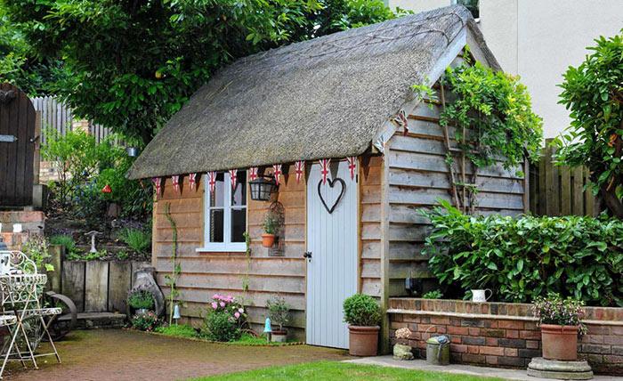 Новый тренд для женщин - домик She shed.
