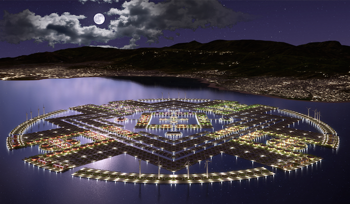 Harvest City - концепт плавучего города.