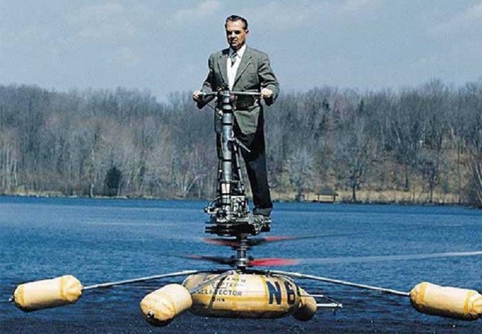 Испытание одноместного вертолета для армии США. | Фото: evergreenmuseum.org.
