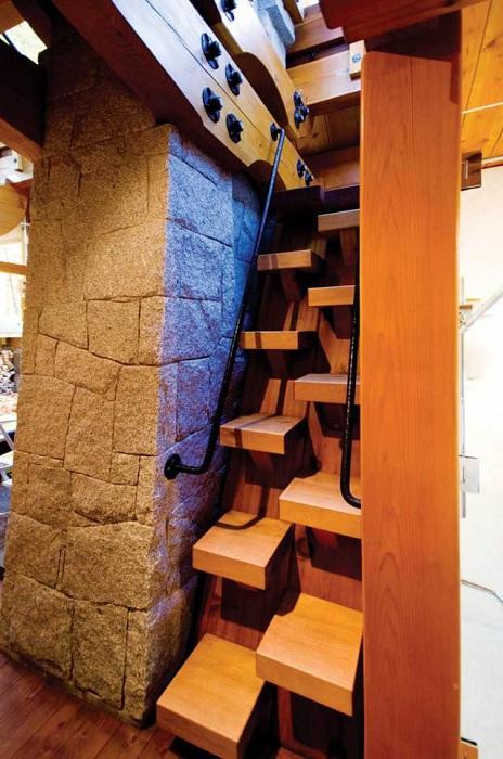 Оригинальная лестница.