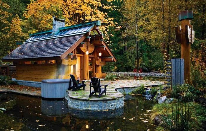 The Totems - домик в канадском лесу.