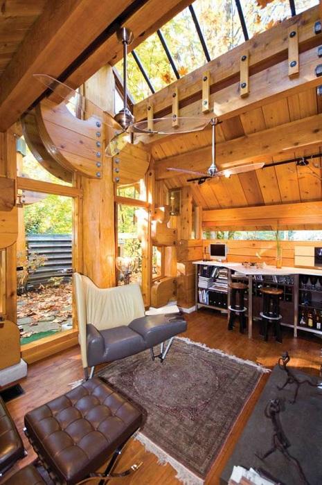 Дом площадью 37,2 кв. метров.