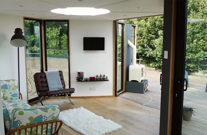 Комфортабельное жилье площадью всего 30,7 кв. метров.