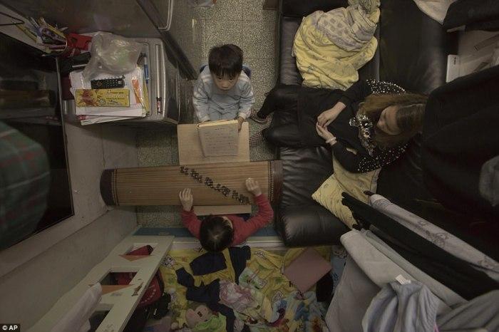 Сверхкомпактная квартира Ли Сует-вэнь.