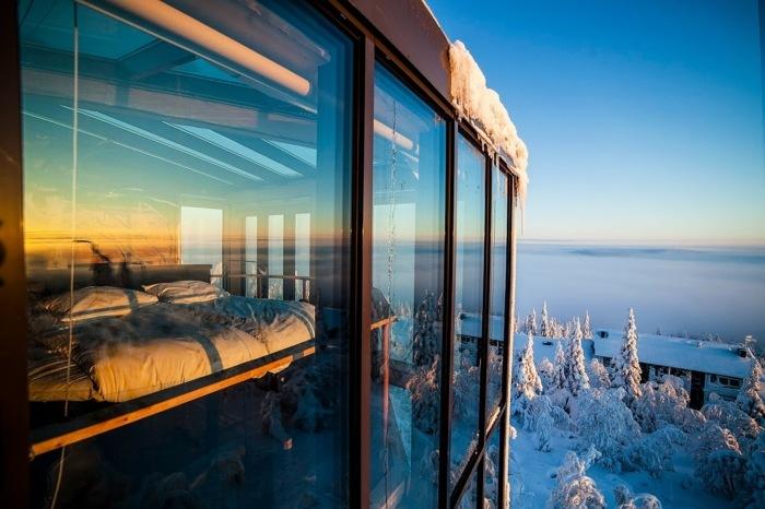 Eagle View Suite - роскошный отель на вершине горы.