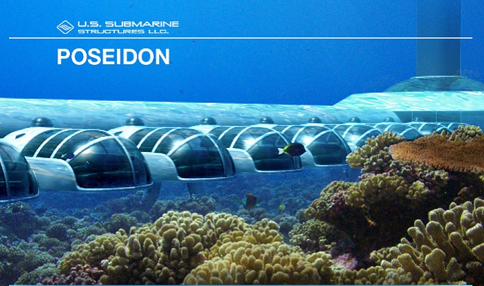 Poseidon Undersea Resort - уникальный отель, в котором можно отдохнуть под водой.