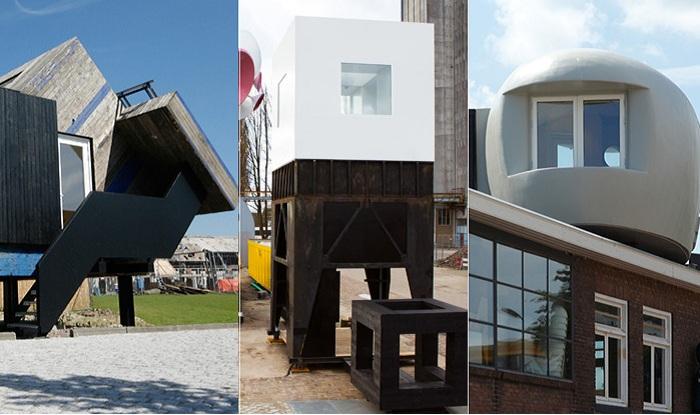 Оригинальные мини-отели в портовом городе Девентер (Голландия).
