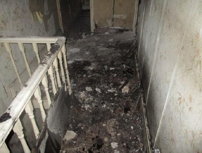 Так выглядел дом до ремонта.