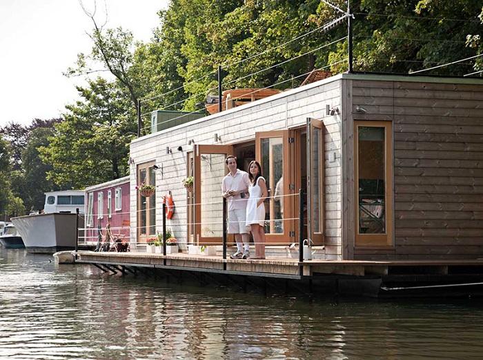 Плавучий дом от EcoFloat.