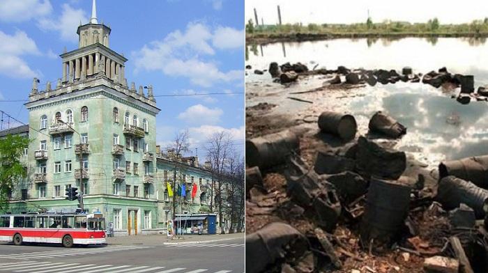 Дзержинск - зона экологического бедствия в России.