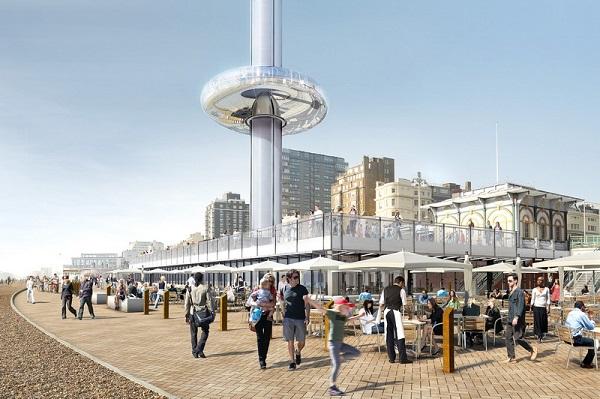 Проект британской архитектурной компании «i360».