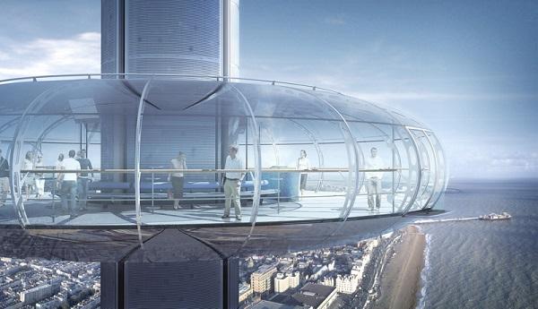 Башня «i360 Brighton».