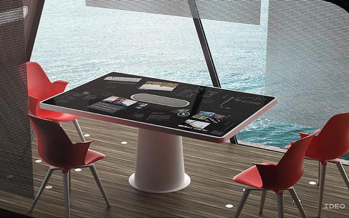 Дизайн офиса на колесах от компании IDEO.