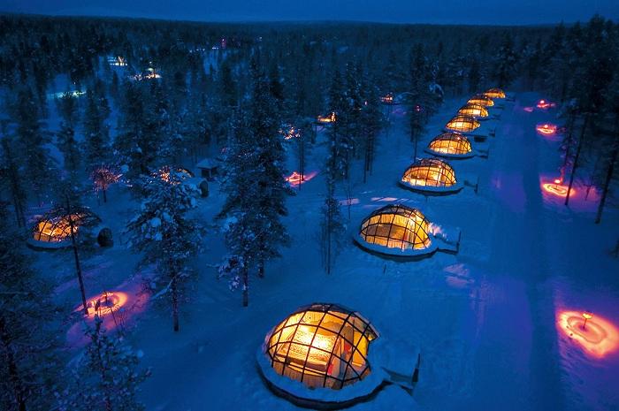 Kakslauttanen Hotel (Финляндия).