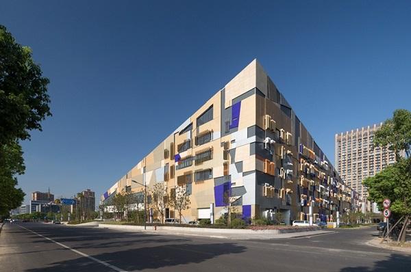 Культурный центр Phoenix Valley. Фасад здания.
