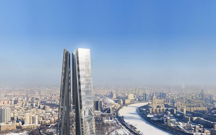 Проект самой высокой башни в Европе.