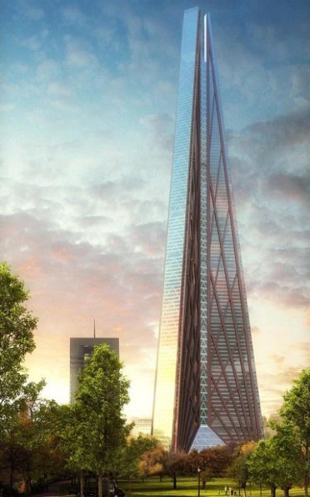 Архитектурный проект фирмы Foster+Partners.
