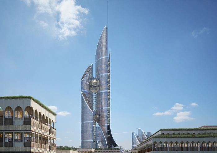 Архитекторский проект фирмы AMBS Architects.