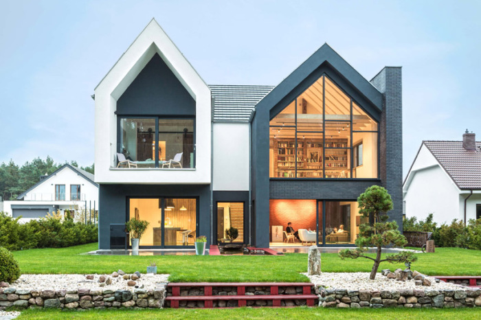 Fence House - дом, расположенный в окрестностях Познани (Польша).