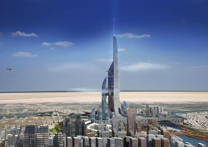 Высота башни в Ираке составят 1,1 км.