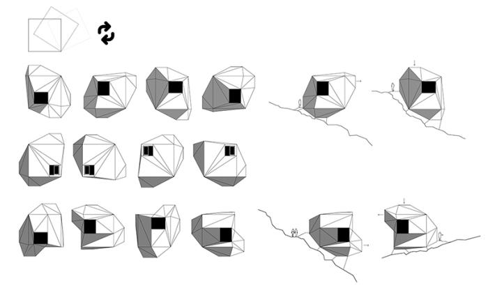 Домик DICE можно адаптировать под любую местность.