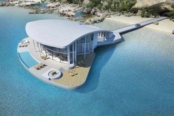 «Sting Ray» - проект дома на воде.