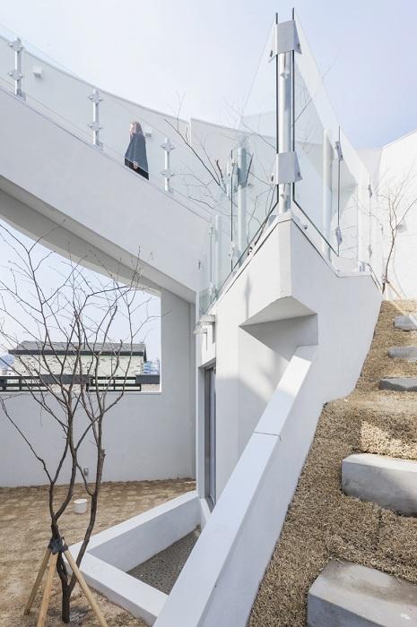 Archi-FIORE. Динамичные лестницы.