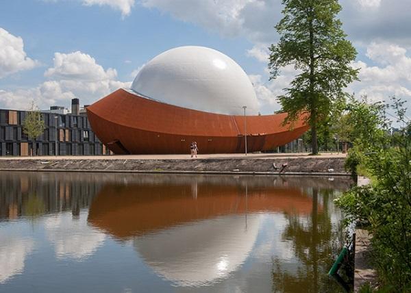 3D-планетарий от голландского архитектора Jack van der Palen.