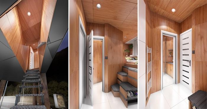 Gregory Project - альтернативное жилье для бездомных.