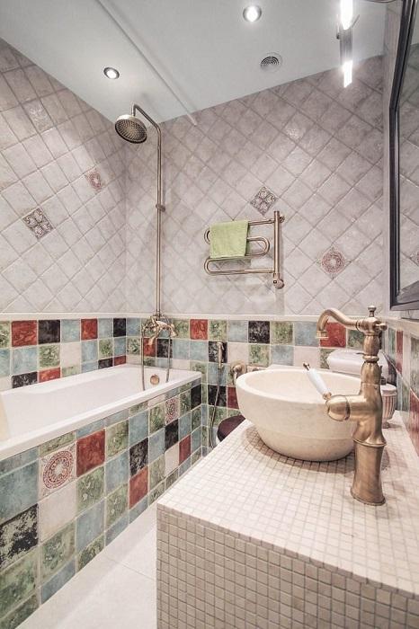 Ванная комната в «хрущевке».