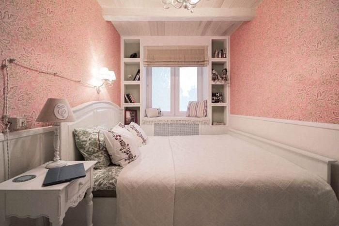 Спальня в прованском стиле.