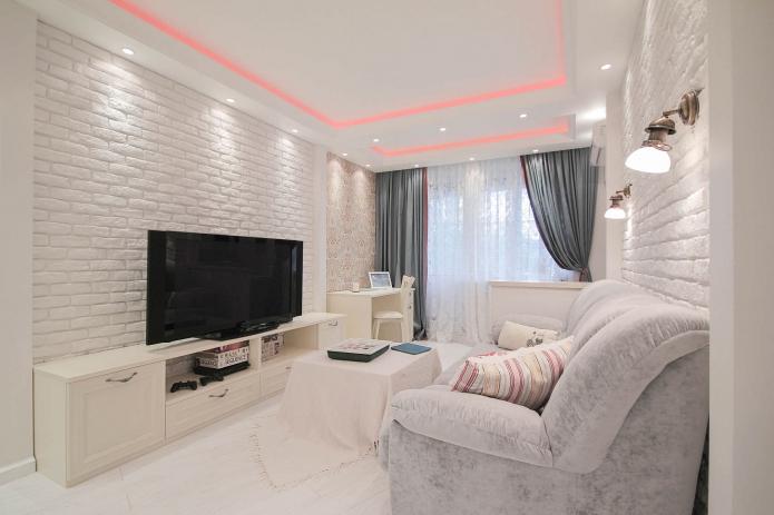 Дизайн квартиры выполнен специалистами студии «ДизайновТочкаРу».