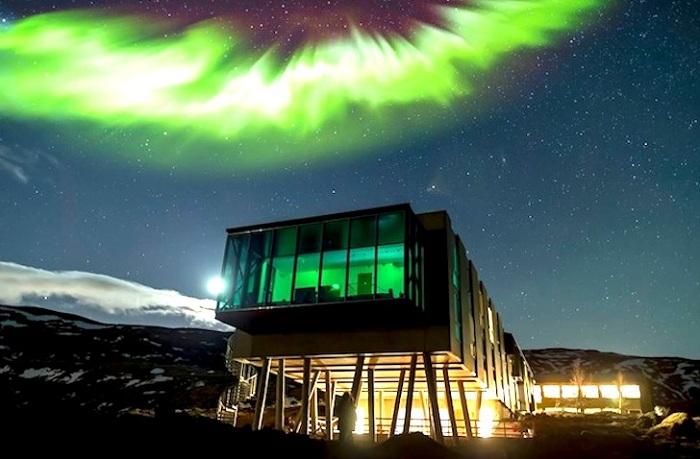 Ion Hotel - отель в Исландии.