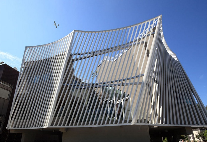 Проект архитектурной южнокорейской компании IROJE KHM.