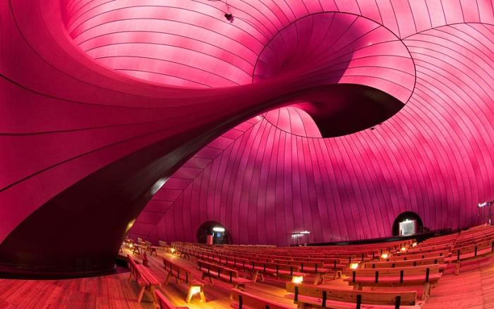 Ark Nova - надувной концертный зал.
