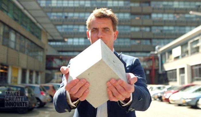 Новые технологии: самовосстанавливающийся бетон.