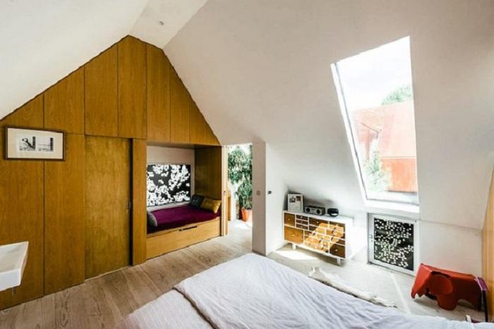 Kew House. Спальня.