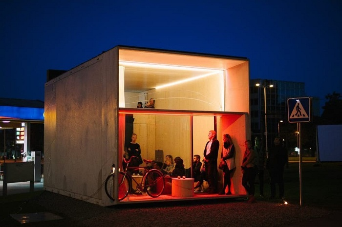 Koda - компактный сборный домик.