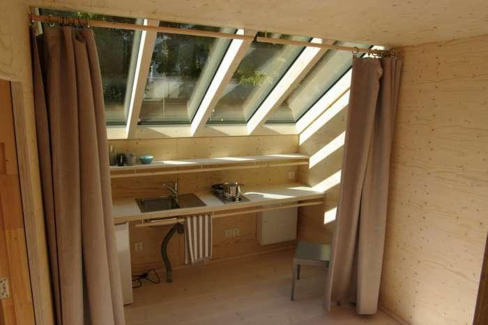 Kokoon - 3-этажный дом площадью всего 35 кв. метров.