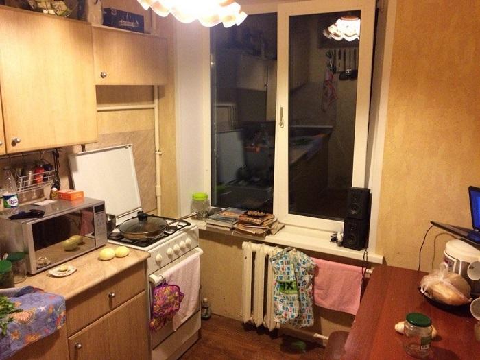 Кухня, каких миллионы.