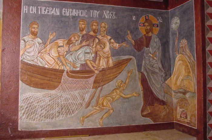 Роспись в византийском стиле.