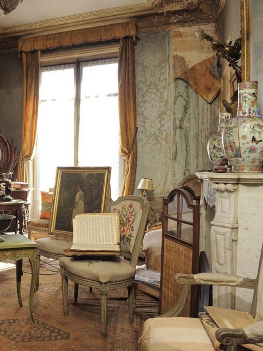 Интерьер квартиры, которую не открывали 72 года.